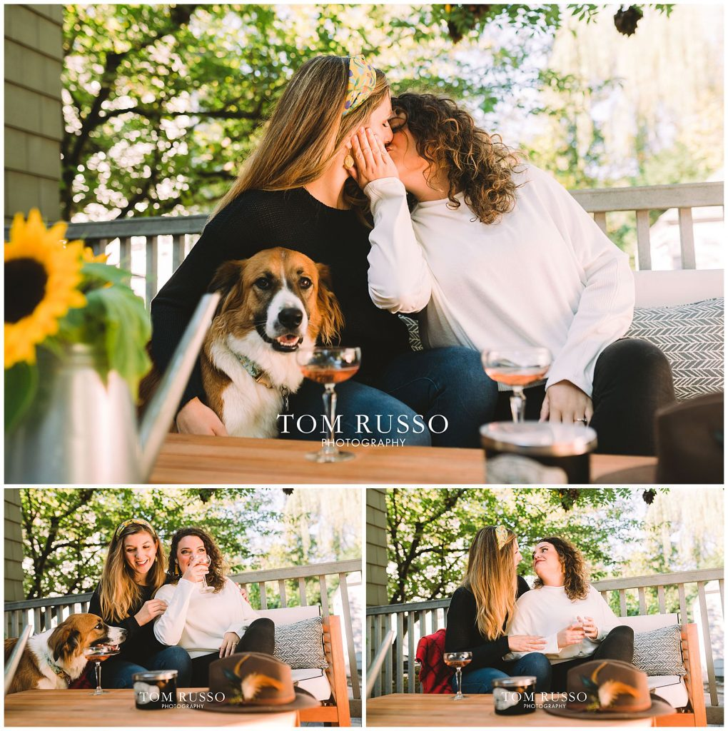 Jenny & Kate Engagement Session Haddonfield NJ 52