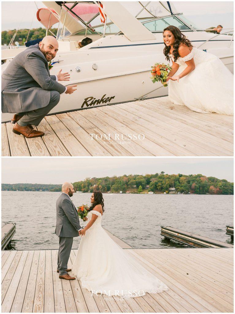 Jon and Kristina Wedding Lake Hopatcong NJ 158