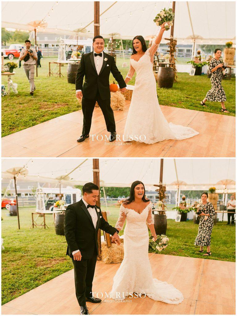 Julia & Anthony Farm Wedding Millstone NJ 321