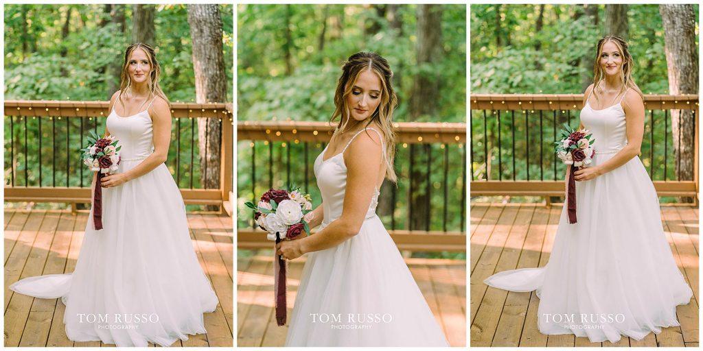 Kelly & Gavin Wedding Table Rock Lake Kimberling City MO 214