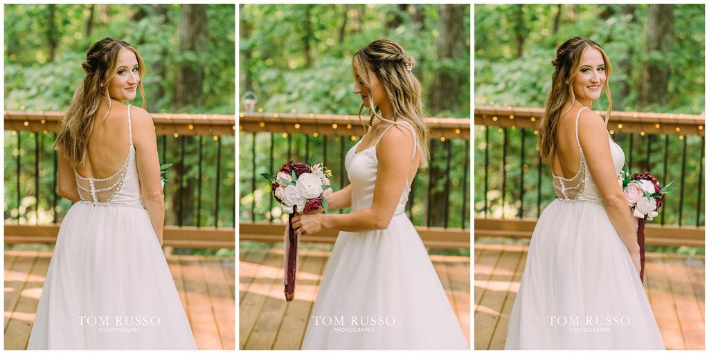 Kelly & Gavin Wedding Table Rock Lake Kimberling City MO 215