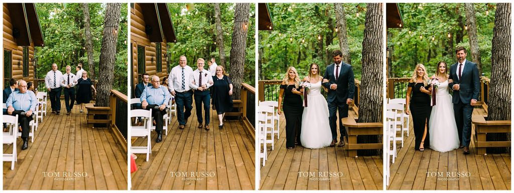 Kelly & Gavin Wedding Table Rock Lake Kimberling City MO 245