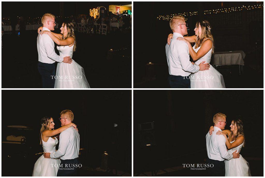 Kelly & Gavin Wedding Table Rock Lake Kimberling City MO 261