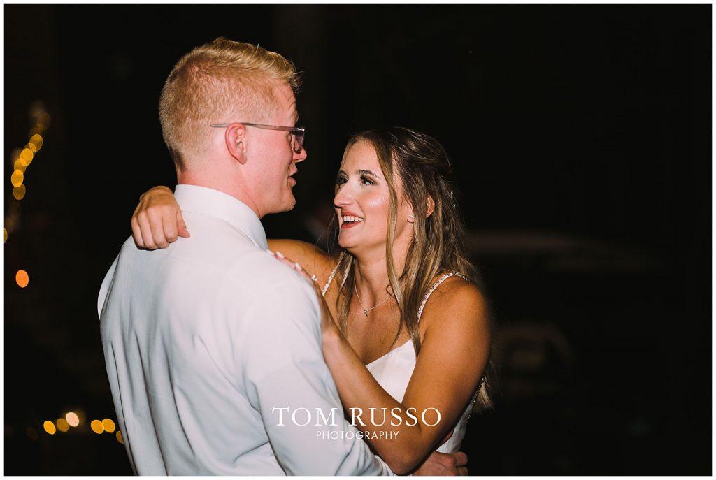 Kelly & Gavin Wedding Table Rock Lake Kimberling City MO 262