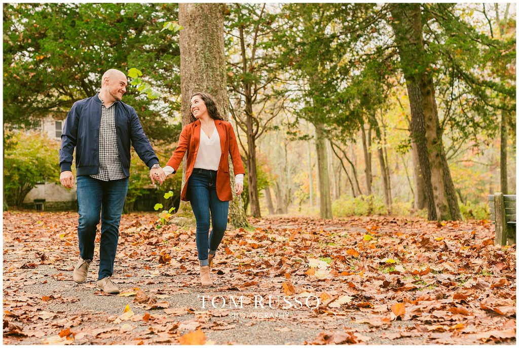 Kristina & Danny Engagement Session Allaire State Park NJ 82