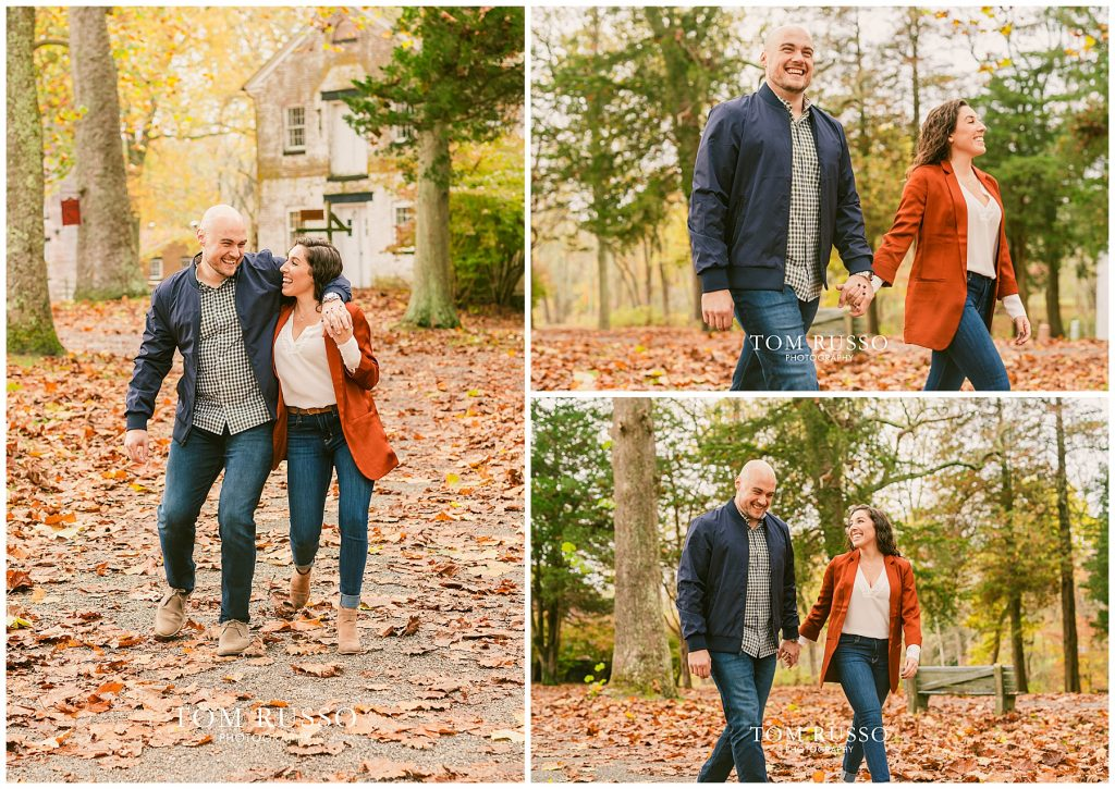 Kristina & Danny Engagement Session Allaire State Park NJ 83