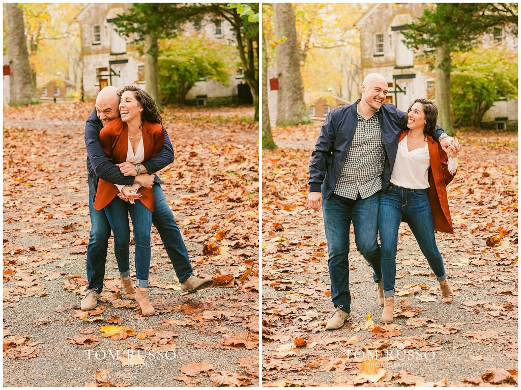 Kristina & Danny Engagement Session Allaire State Park NJ 84