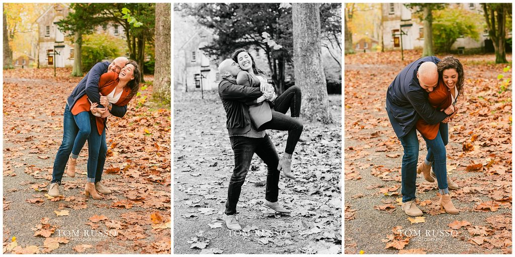 Kristina & Danny Engagement Session Allaire State Park NJ 85