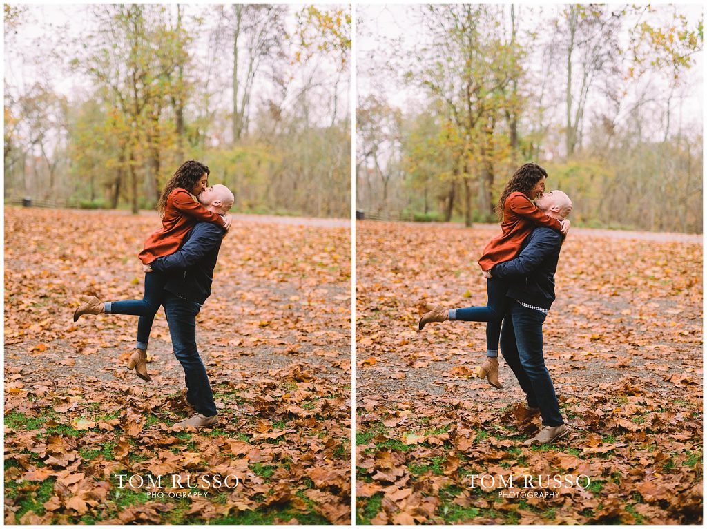 Kristina & Danny Engagement Session Allaire State Park NJ 89