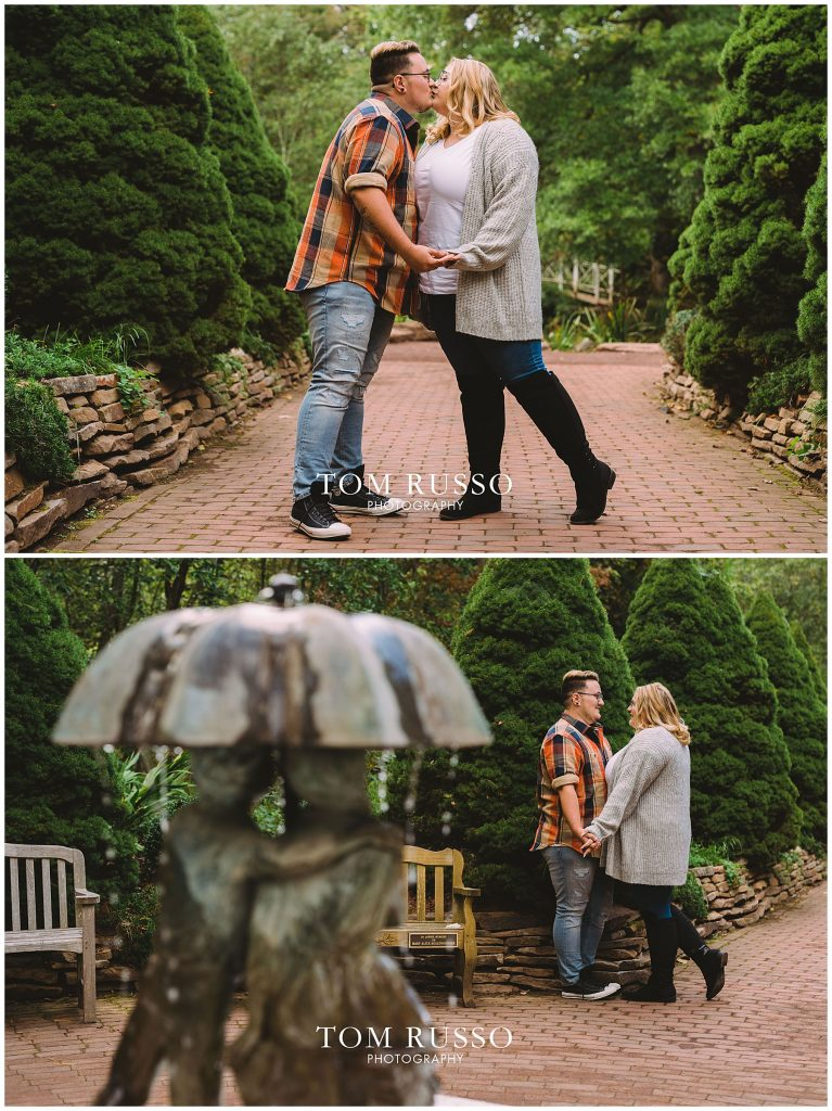 Lacee & Christian Engagement Session Sayen House and Gardens Hamilton NJ 41