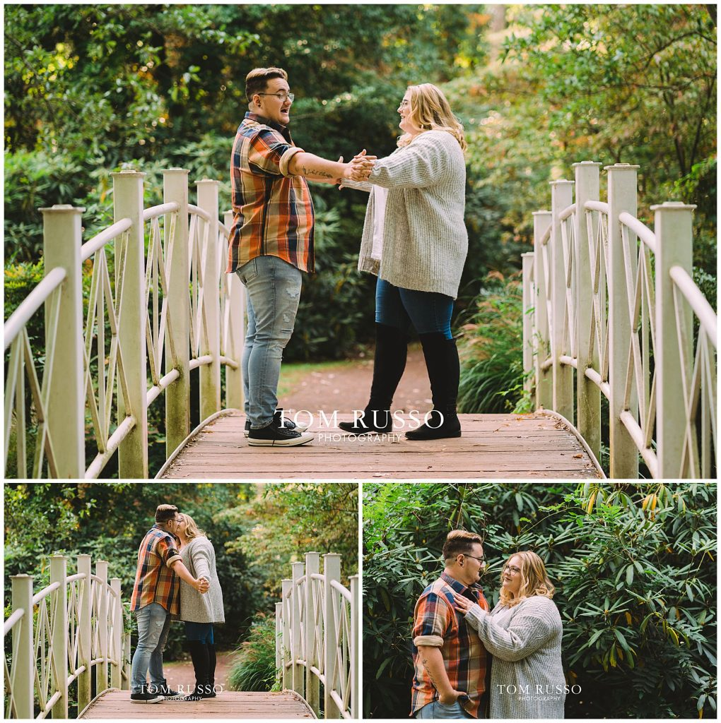 Lacee & Christian Engagement Session Sayen House and Gardens Hamilton NJ 44