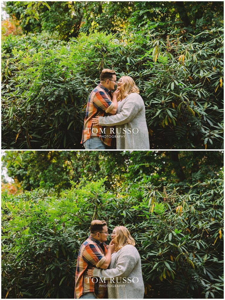 Lacee & Christian Engagement Session Sayen House and Gardens Hamilton NJ 45