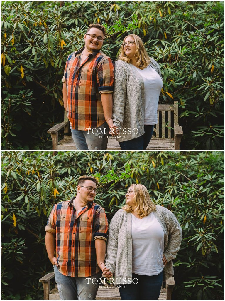 Lacee & Christian Engagement Session Sayen House and Gardens Hamilton NJ 47