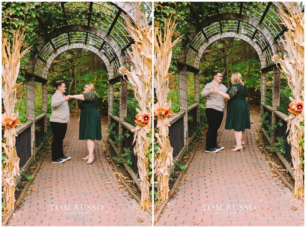 Lacee & Christian Engagement Session Sayen House and Gardens Hamilton NJ 48