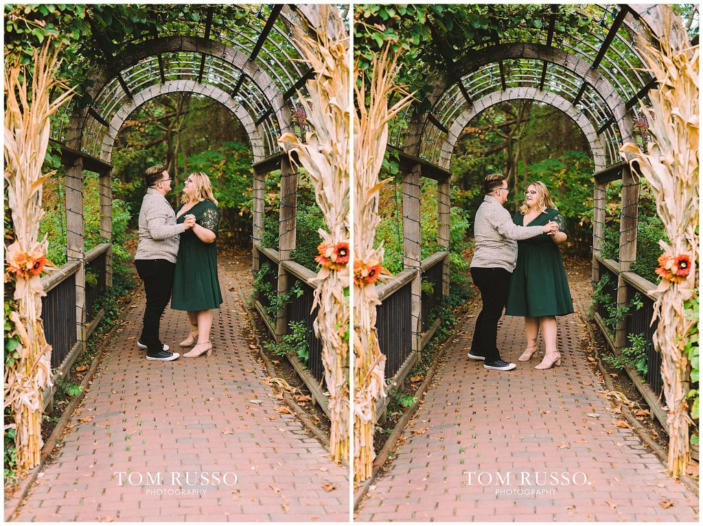 Lacee & Christian Engagement Session Sayen House and Gardens Hamilton NJ 49