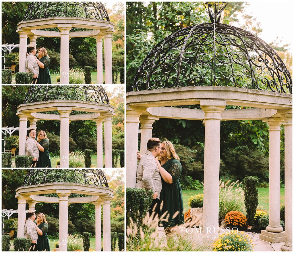 Lacee & Christian Engagement Session Sayen House and Gardens Hamilton NJ 53