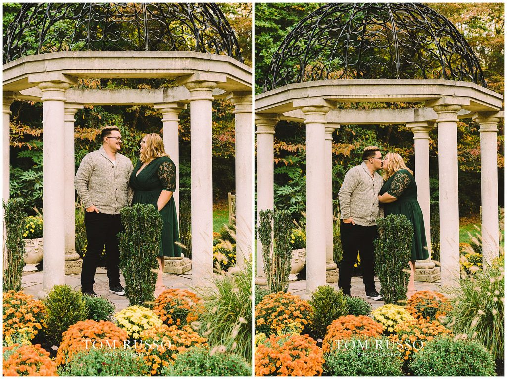 Lacee & Christian Engagement Session Sayen House and Gardens Hamilton NJ 55