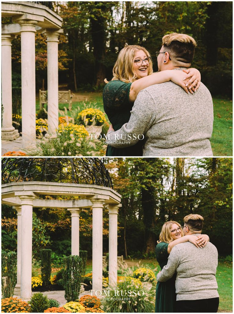 Lacee & Christian Engagement Session Sayen House and Gardens Hamilton NJ 56