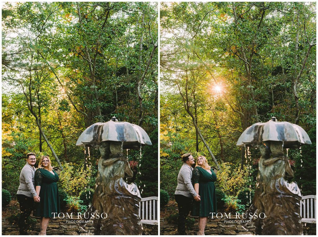 Lacee & Christian Engagement Session Sayen House and Gardens Hamilton NJ 57