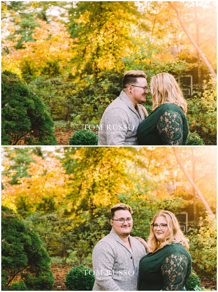 Lacee & Christian Engagement Session Sayen House and Gardens Hamilton NJ 59