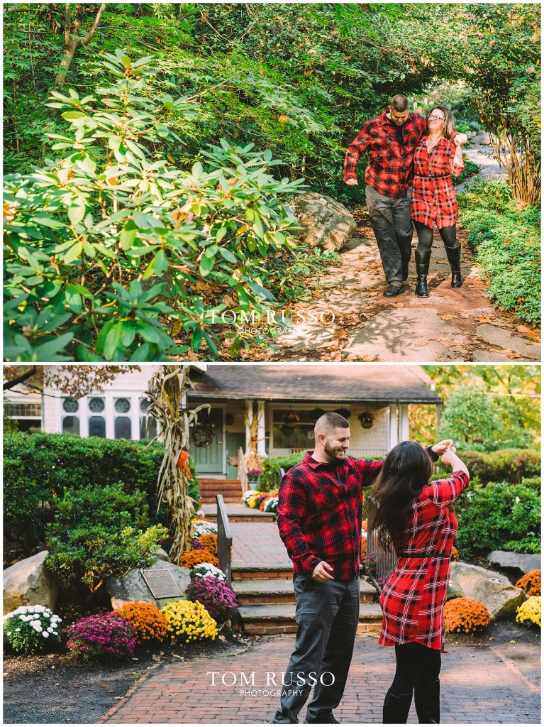 Engagement Session Sayen House and Gardens