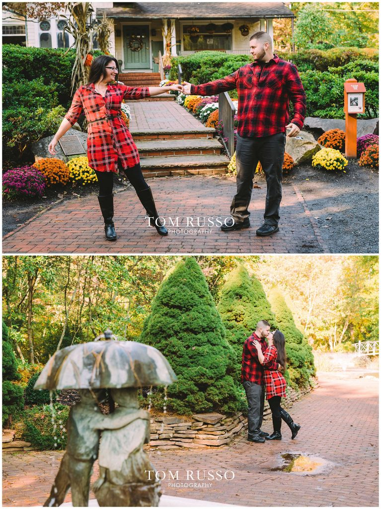 Maria & John Engagement Session Sayen House and Gardens Hamilton NJ 47