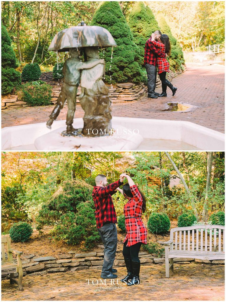 Maria & John Engagement Session Sayen House and Gardens Hamilton NJ 48