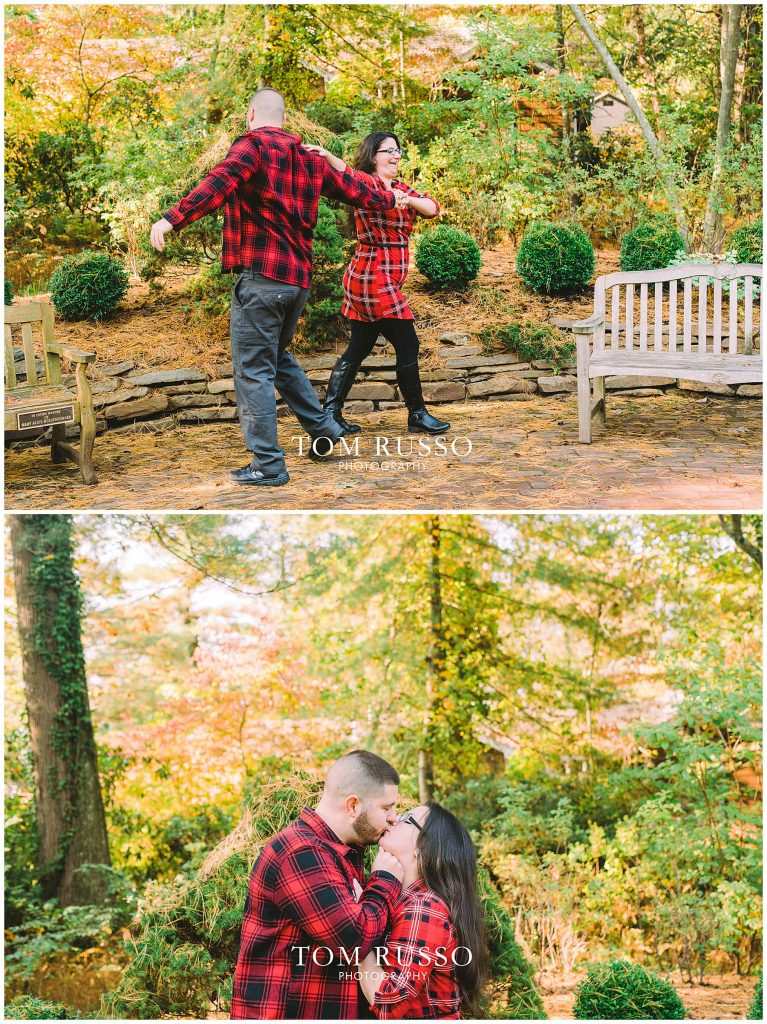 Maria & John Engagement Session Sayen House and Gardens Hamilton NJ 49