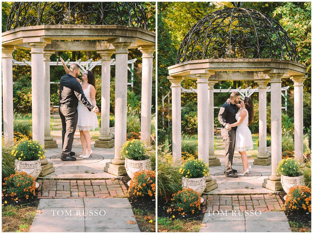 Maria & John Engagement Session Sayen House and Gardens Hamilton NJ 56