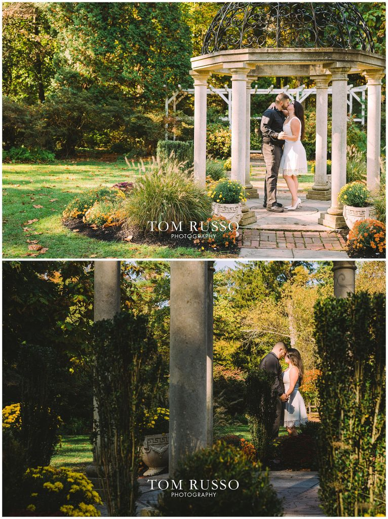 Maria & John Engagement Session Sayen House and Gardens Hamilton NJ 58