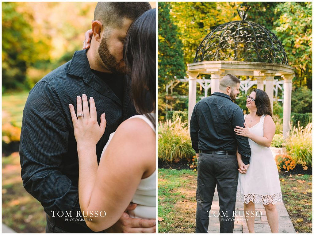 Maria & John Engagement Session Sayen House and Gardens Hamilton NJ 62