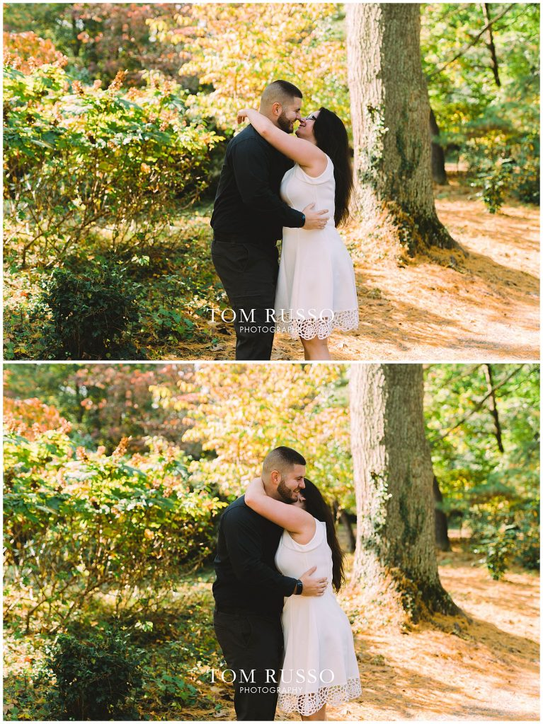 Maria & John Engagement Session Sayen House and Gardens Hamilton NJ 66
