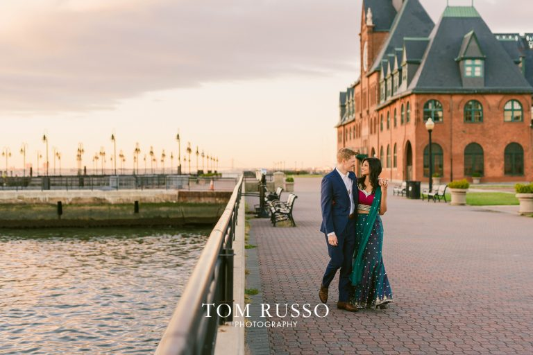 Sloan & Hunter Sunrise Engagement Session Liberty State Park & Central Park NYC 9