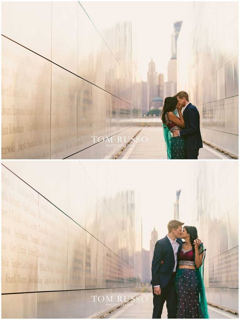 Sloan & Hunter Sunrise Engagement Session Liberty State Park & Central Park NYC 87