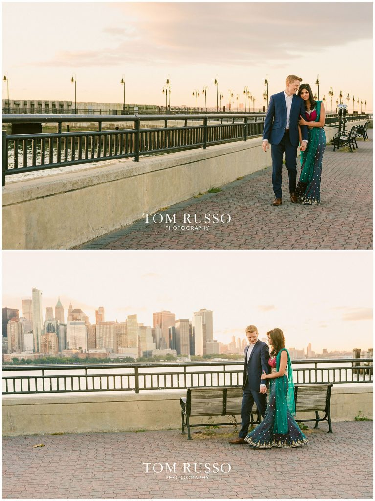 Sloan & Hunter Sunrise Engagement Session Liberty State Park & Central Park NYC 92