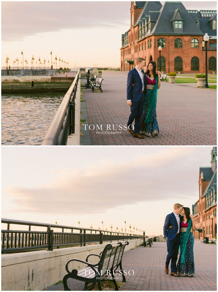 Sloan & Hunter Sunrise Engagement Session Liberty State Park & Central Park NYC 93