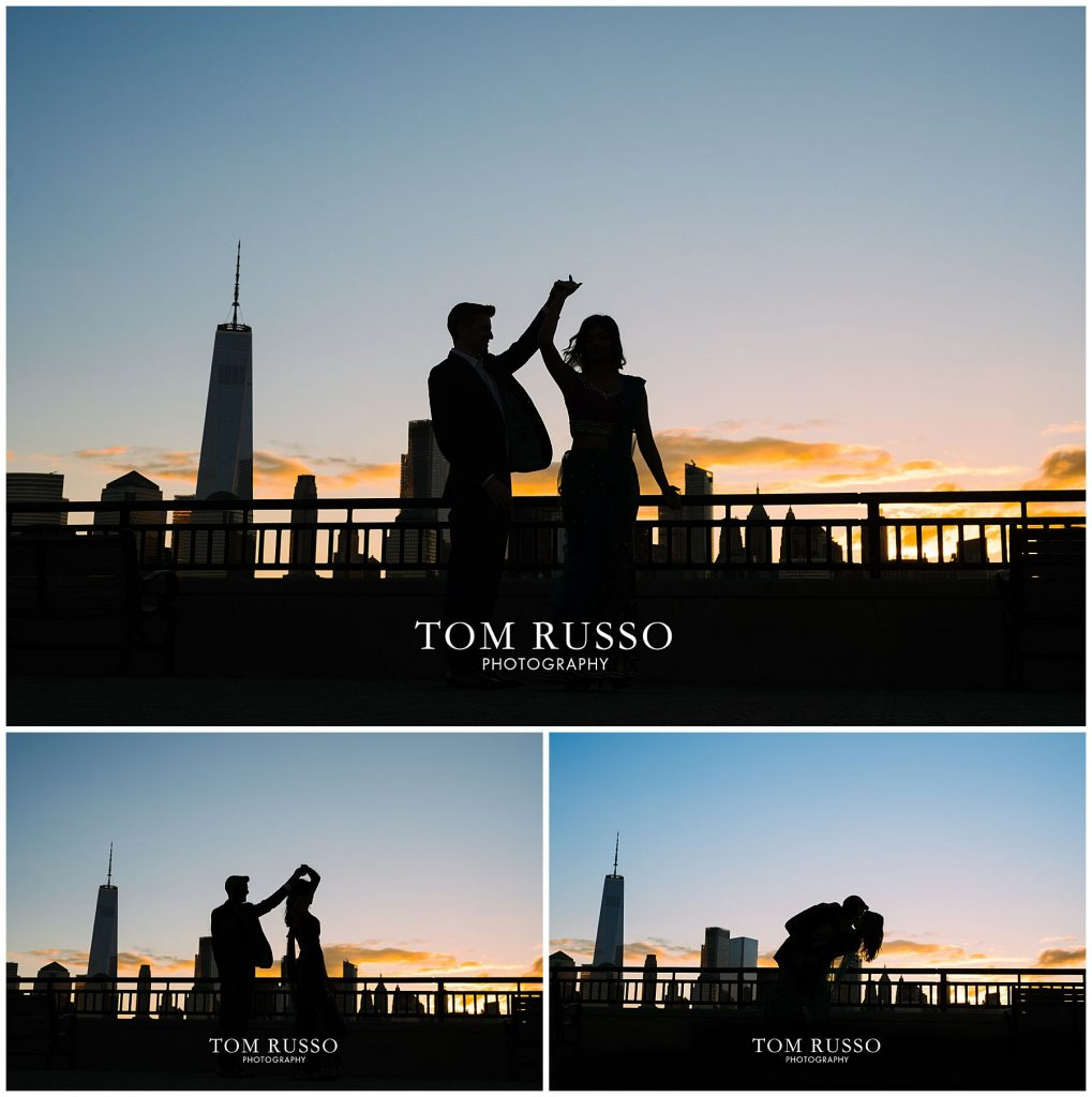 Sloan & Hunter Sunrise Engagement Session Liberty State Park & Central Park NYC 95