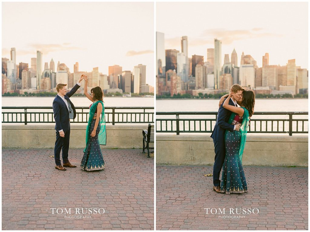 Sloan & Hunter Sunrise Engagement Session Liberty State Park & Central Park NYC 96