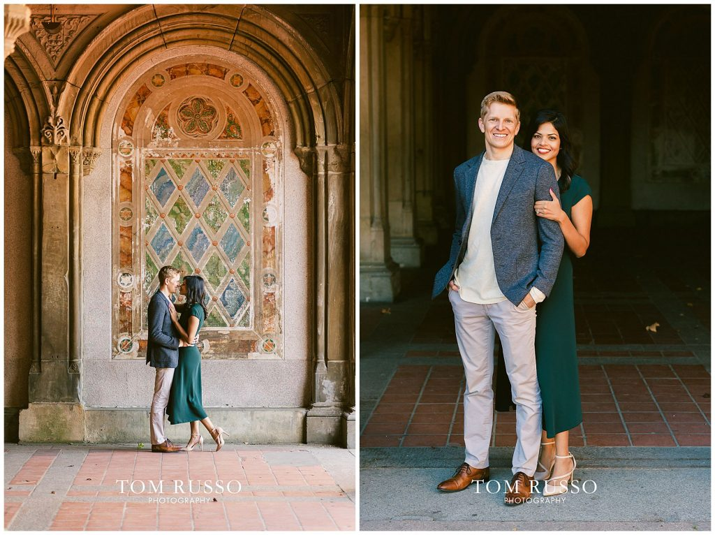 Sloan & Hunter Sunrise Engagement Session Liberty State Park & Central Park NYC 108
