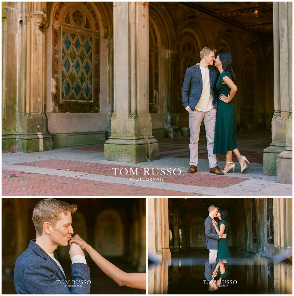 Sloan & Hunter Sunrise Engagement Session Liberty State Park & Central Park NYC 116
