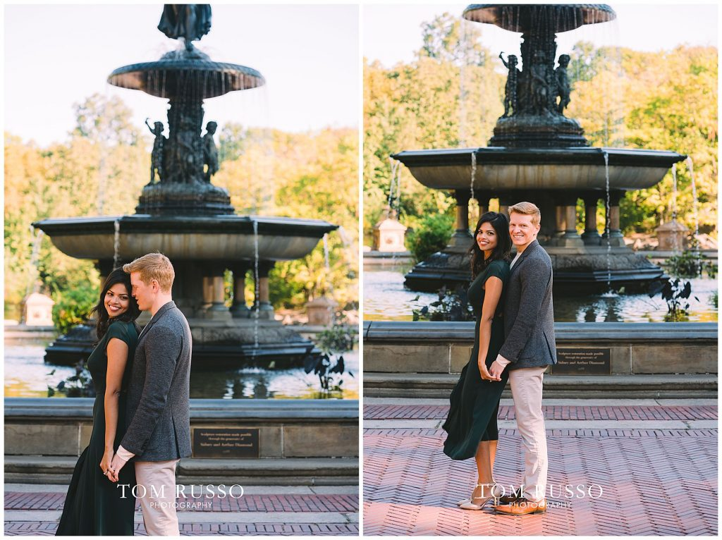 Sloan & Hunter Sunrise Engagement Session Liberty State Park & Central Park NYC 117