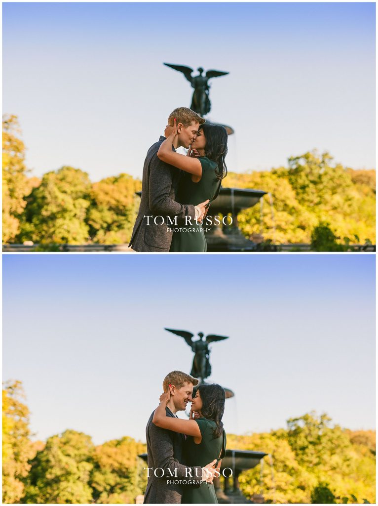 Sloan & Hunter Sunrise Engagement Session Liberty State Park & Central Park NYC 118
