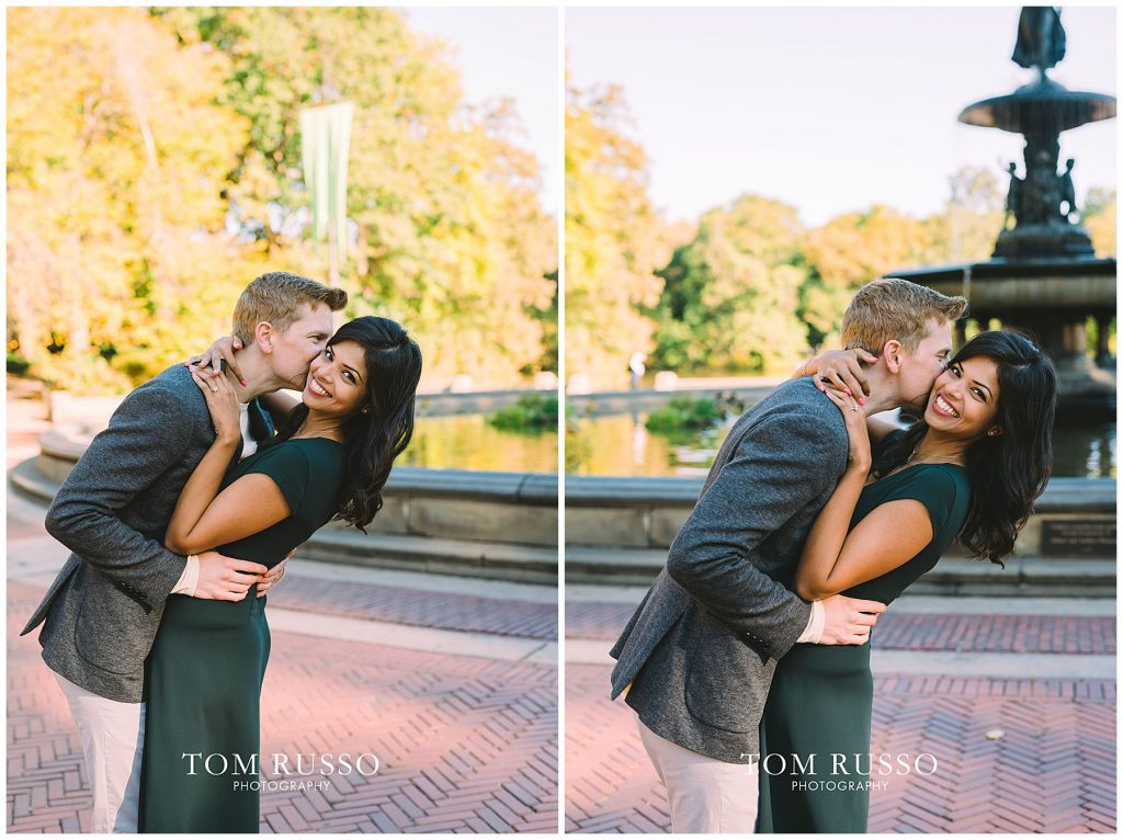 Sloan & Hunter Sunrise Engagement Session Liberty State Park & Central Park NYC 119