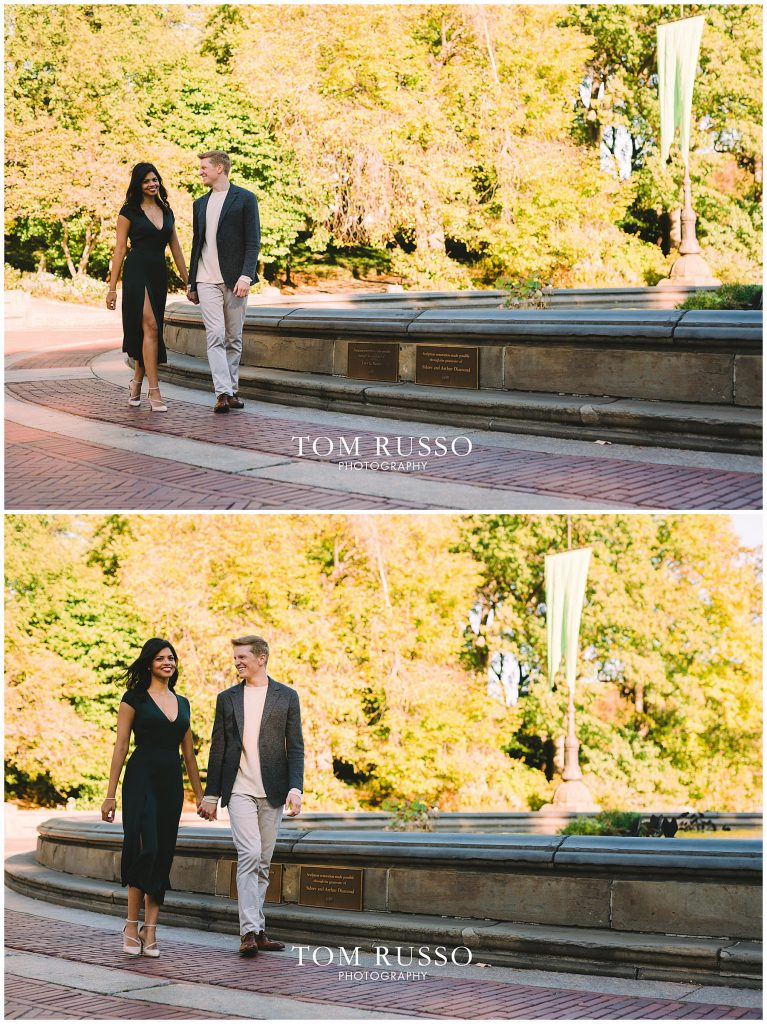 Sloan & Hunter Sunrise Engagement Session Liberty State Park & Central Park NYC 120