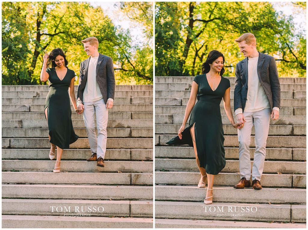 Sloan & Hunter Sunrise Engagement Session Liberty State Park & Central Park NYC 123