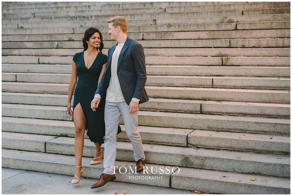 Sloan & Hunter Sunrise Engagement Session Liberty State Park & Central Park NYC 124
