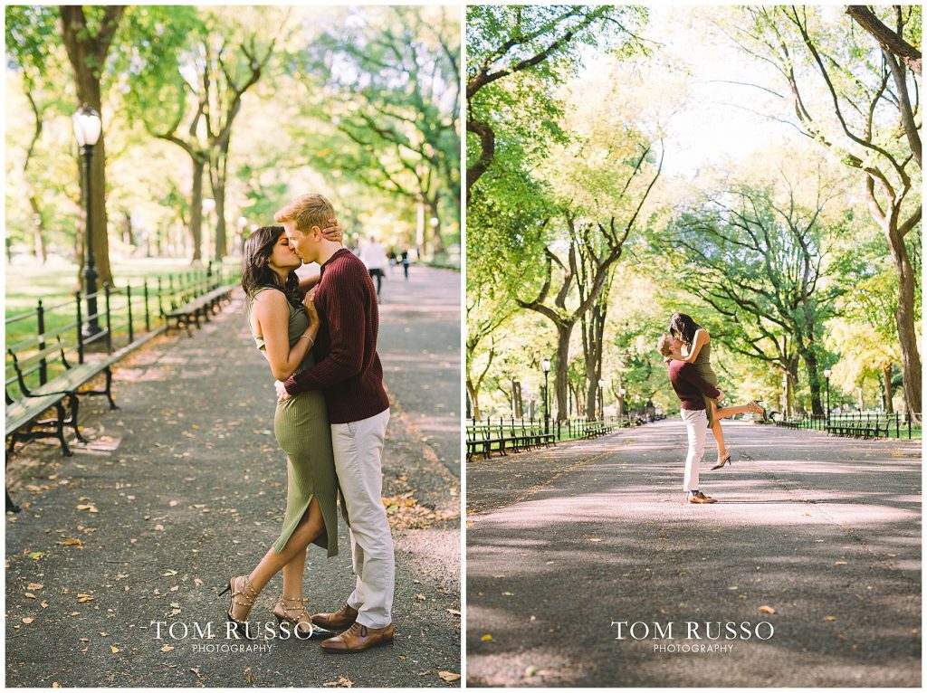 Sloan & Hunter Sunrise Engagement Session Liberty State Park & Central Park NYC 126