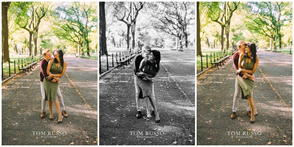 Sloan & Hunter Sunrise Engagement Session Liberty State Park & Central Park NYC 127