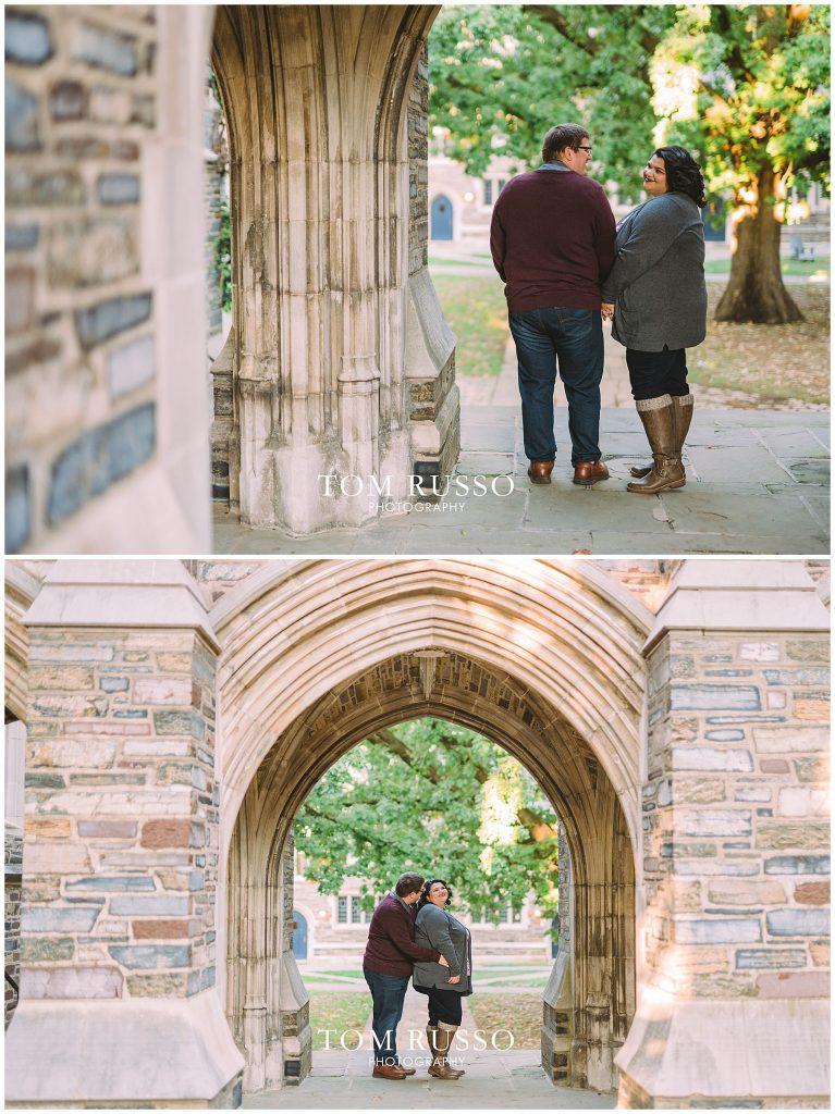 Vicki & Jeff Engagement Session Princeton University Princeton NJ 42