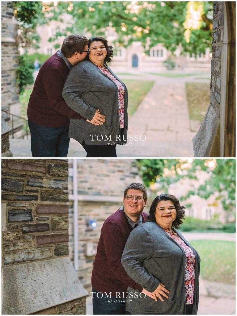 Vicki & Jeff Engagement Session Princeton University Princeton NJ 43